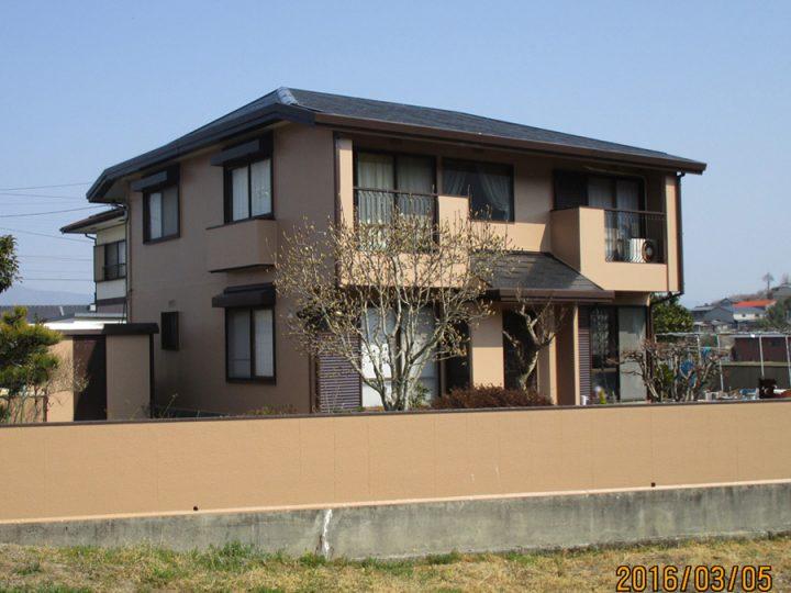 吉野川市山川町 T様邸  外壁塗装工事