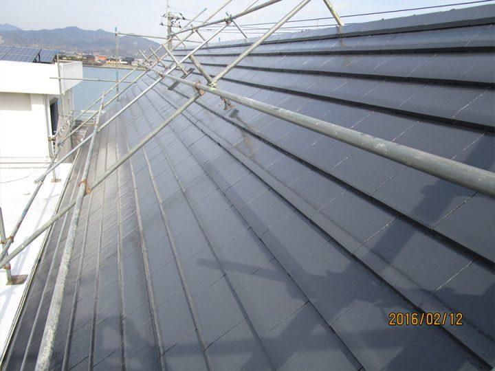 板野郡松茂町 F様邸 屋根塗装工事