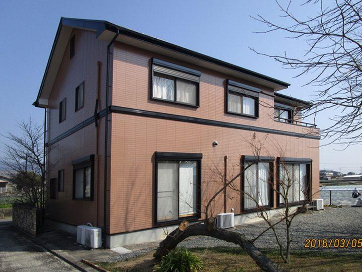 徳島市 K様邸 外壁塗装工事
