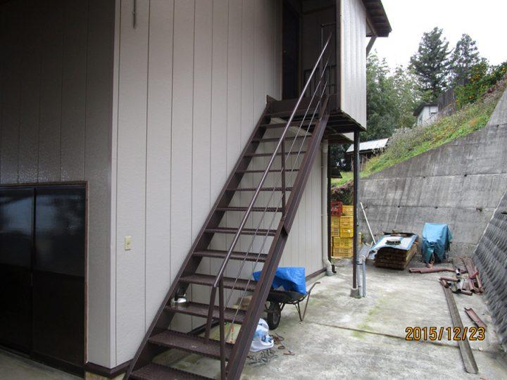 美馬市脇町町 M様邸  外壁塗装工事