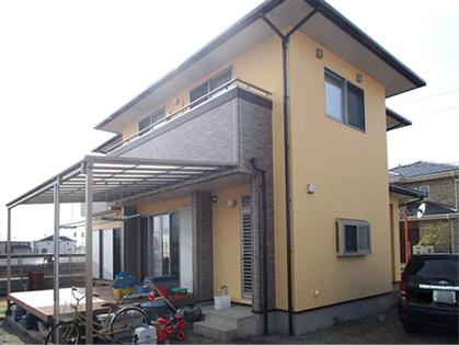 松茂町Y様邸 外壁塗装・屋根塗装・ベランダ塗装工事