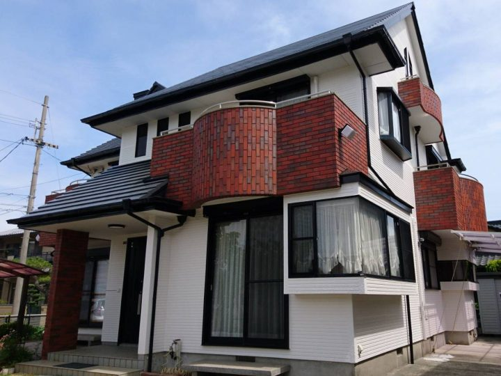 徳島市南矢三町 M様邸 屋根塗装・外壁塗装工事
