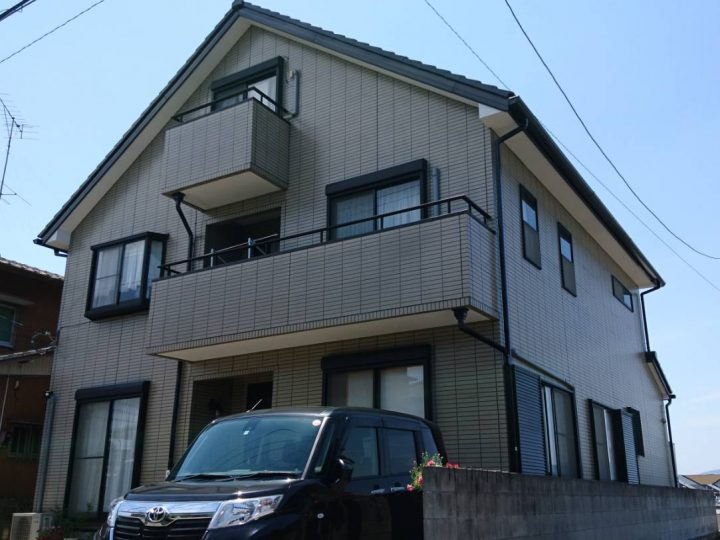 板野郡藍住町 T様邸 屋根塗装・外壁塗装工事