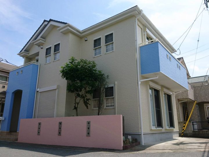 徳島市春日 T様邸 屋根・外壁塗装工事