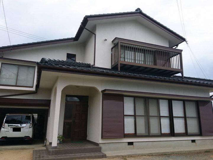 阿波市吉野町 K様邸 屋根塗装・外壁塗装工事