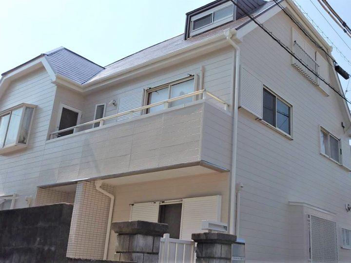 徳島市南佐古町 K様邸 屋根塗装・外壁塗装工事