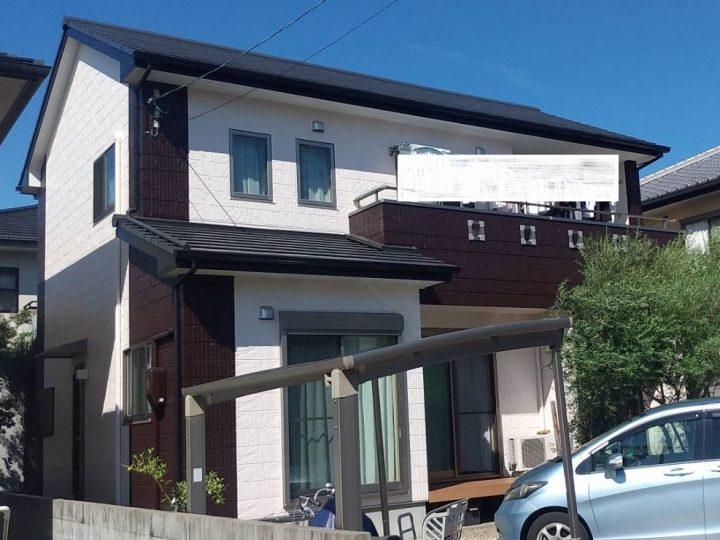 徳島市国府町 K様邸 屋根・外壁塗装工事