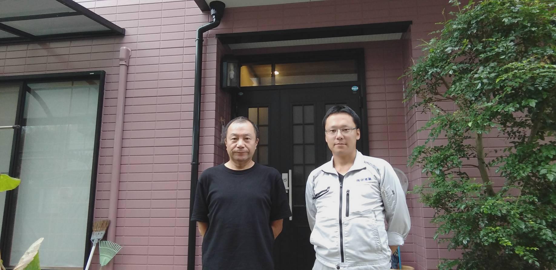 徳島市 渋野町 K様邸 屋根・外壁塗装工事