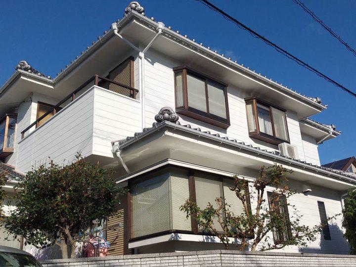 徳島市 上吉野町 A様邸 外壁塗装工事