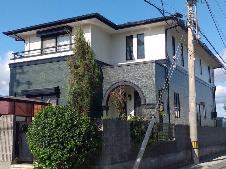 鳴門市 里浦町 H様邸 屋根塗装 外壁塗装