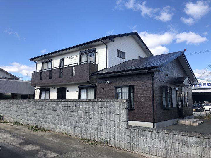 徳島市 国府町 F様邸 屋根塗装 外壁塗装