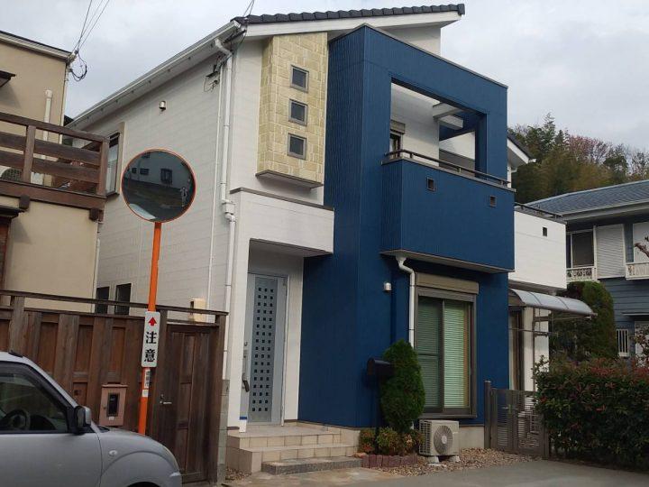 徳島市 八万町 O様邸 外壁塗装工事