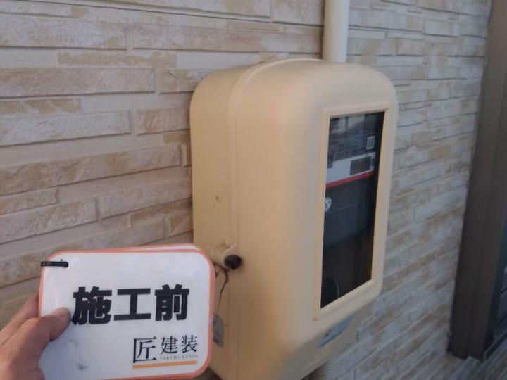 電気BOX 施工前