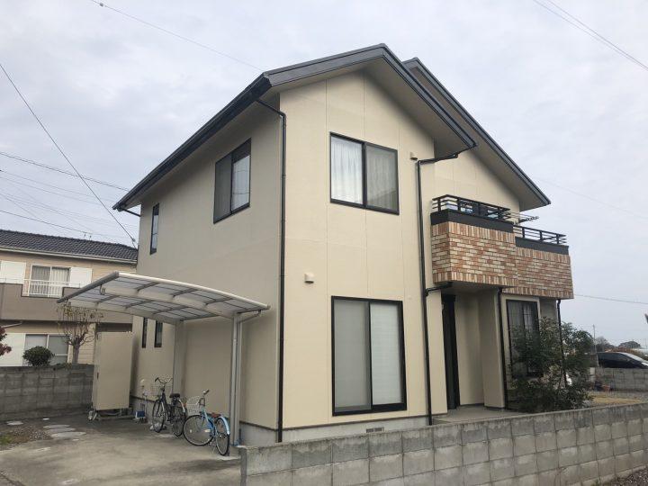 徳島市国府町 I様邸 屋根塗装 外壁塗装