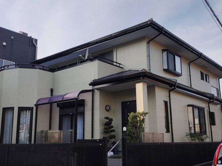 徳島市 佐古 F様邸 屋根塗装 外壁塗装