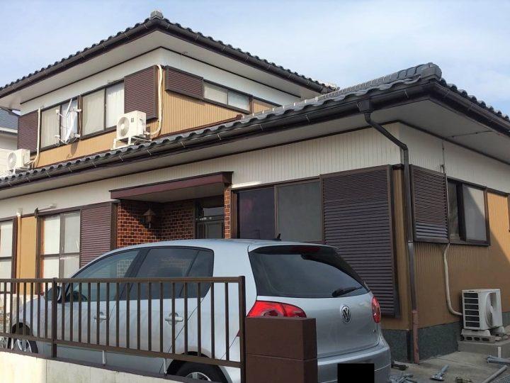 徳島市 国府町 K様邸 外壁塗装工事