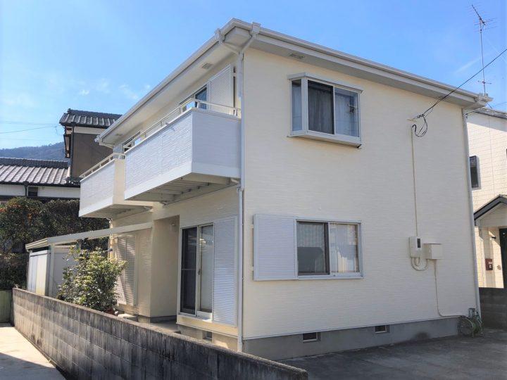 吉野川市 川島町 S様邸 屋根塗装 外壁塗装