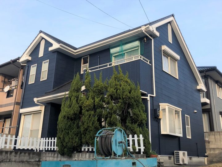 板野郡板野町 Y様邸 屋根塗装 外壁塗装