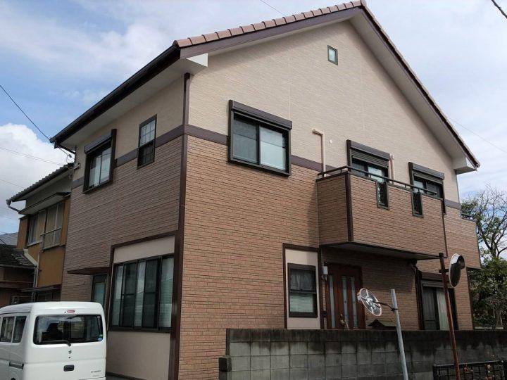 徳島市上助任町 O様邸 屋根塗装 外壁塗装