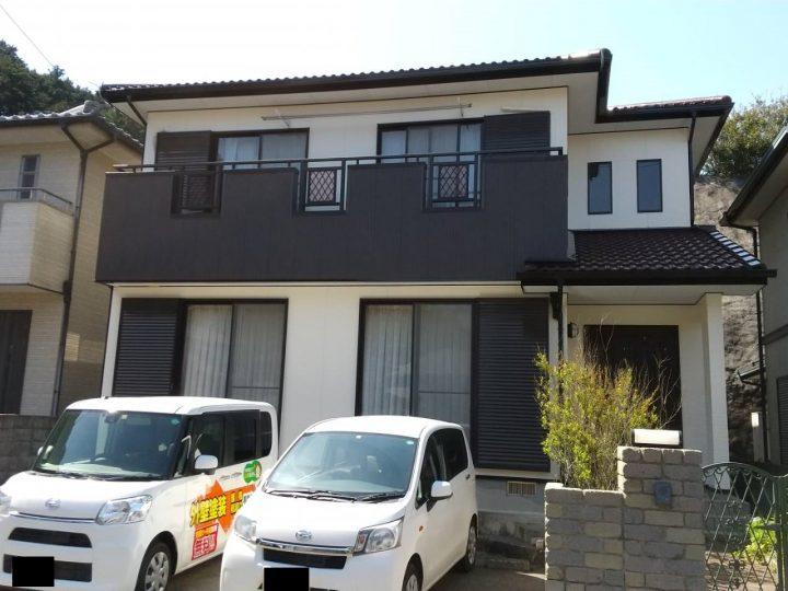 小松島市田野町 N様邸 屋根塗装 外壁塗装