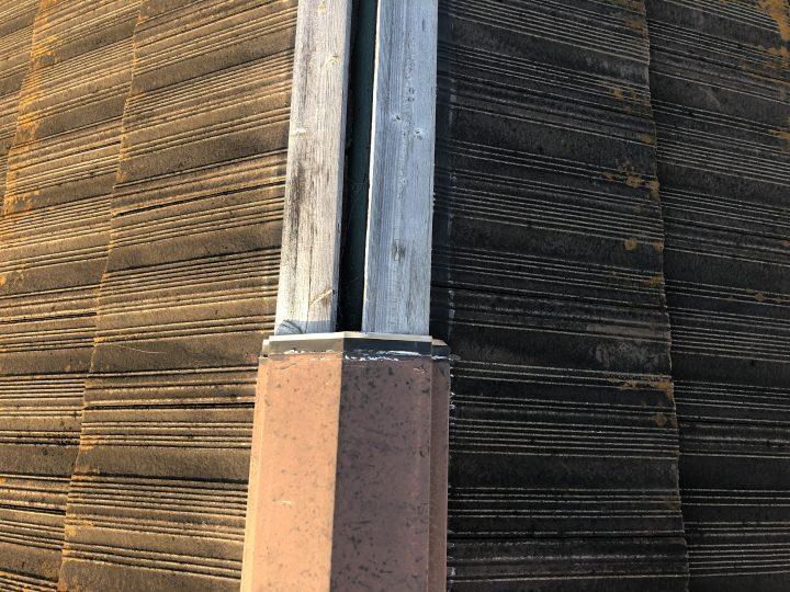 屋根板金修理前