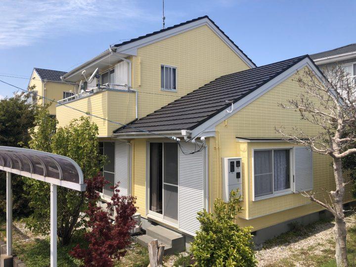 鳴門市大麻町 A様邸 屋根塗装 外壁塗装