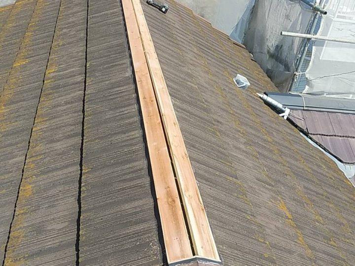 屋根板金修理後