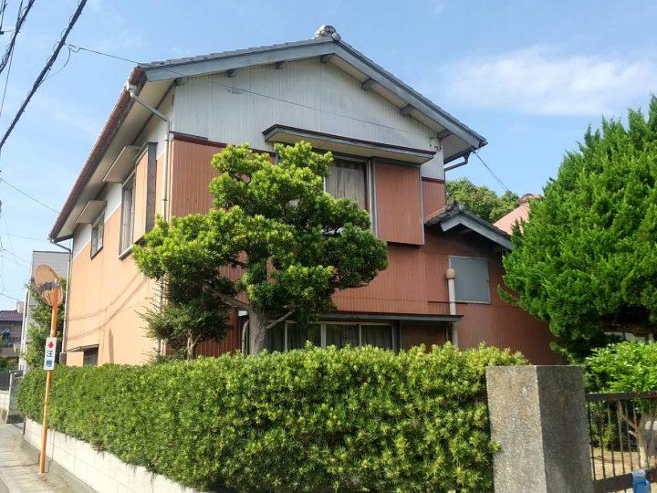 徳島市国府町 N様邸 外壁塗装 軒天張替