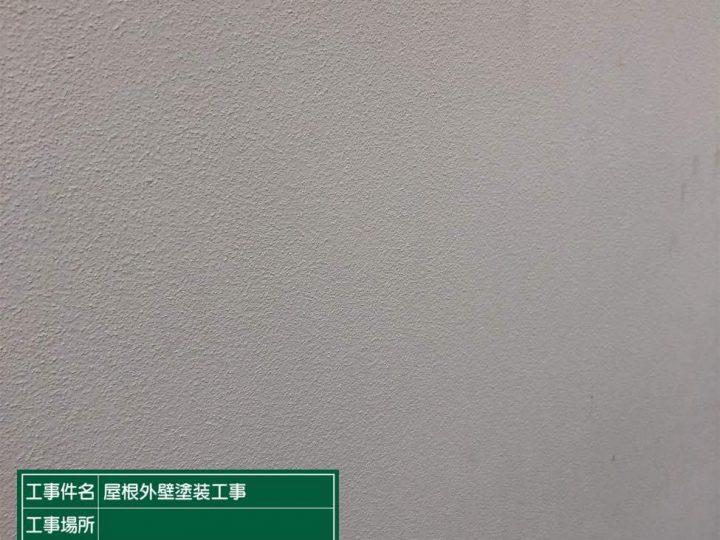 外壁高圧洗浄後