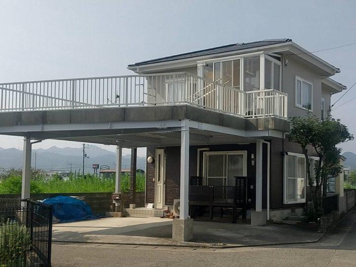 板野郡松茂町 H様邸 屋根塗装 外壁塗装
