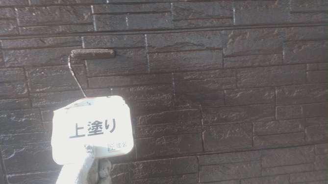 外壁上塗り(1F)