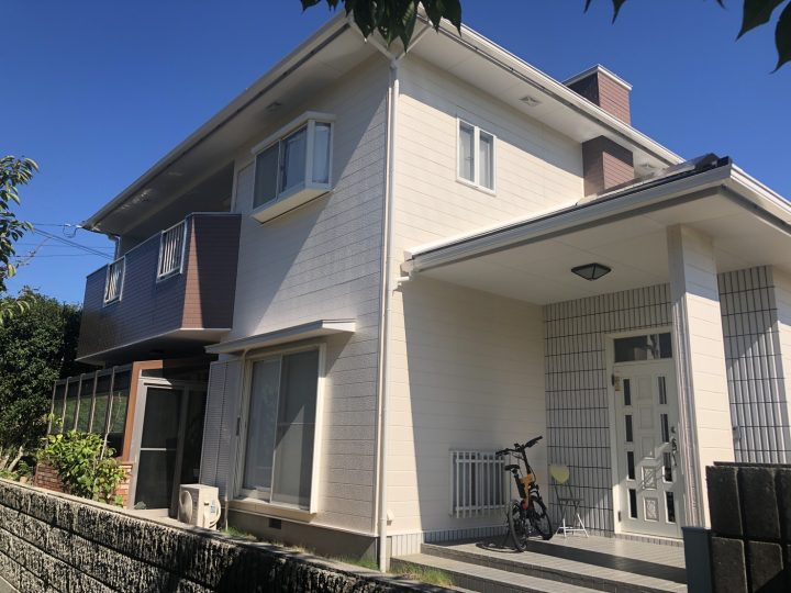 吉野川市山川町 M様邸 屋根塗装 外壁塗装