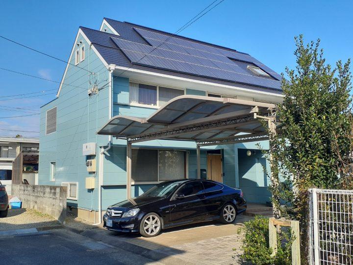 徳島市論田町 S様邸 屋根塗装 外壁塗装