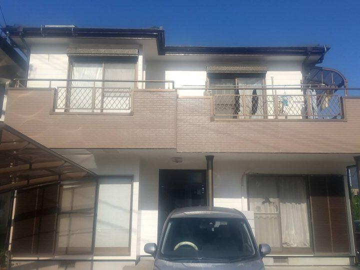 板野郡藍住町 K様邸 屋根塗装・外壁塗装