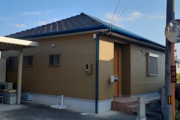 板野郡板野町 H様邸 屋根・外壁塗装工事