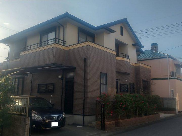 徳島市八万町 N様邸 屋根塗装・外壁塗装