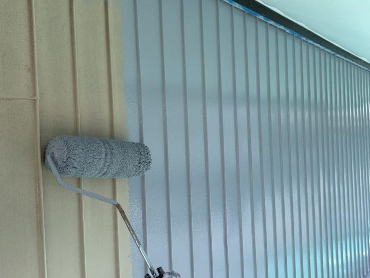外壁(鉄部)下塗り