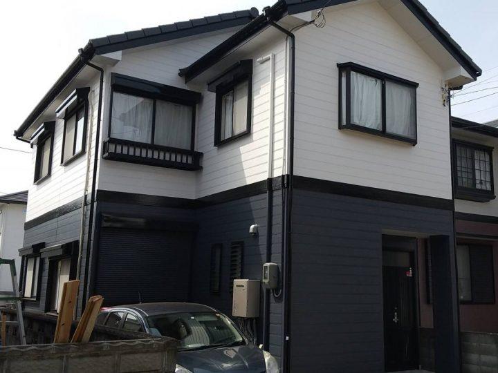 徳島市名東町 N様邸 屋根塗装・外壁塗装