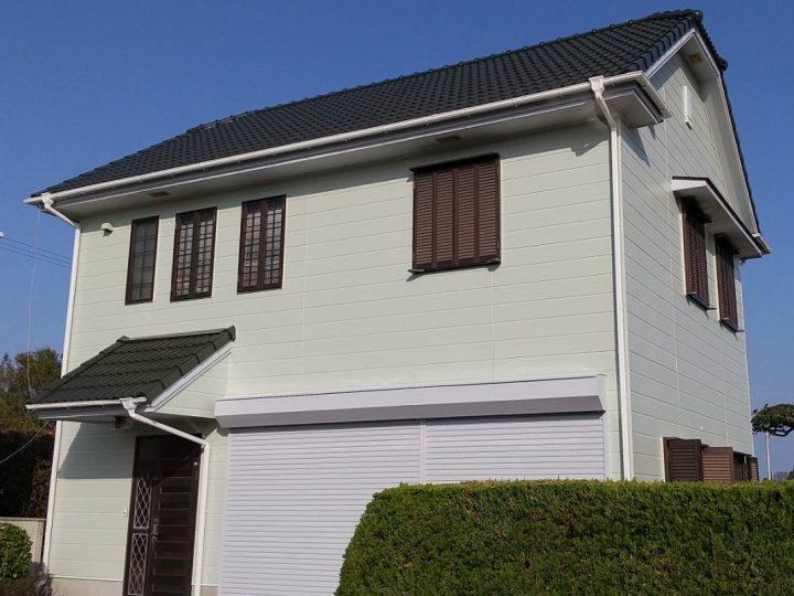 徳島市川内町 K様邸 屋根塗装・外壁塗装