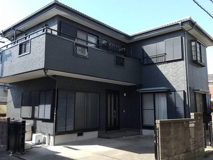 徳島市新浜町 K様邸 屋根塗装・外壁塗装