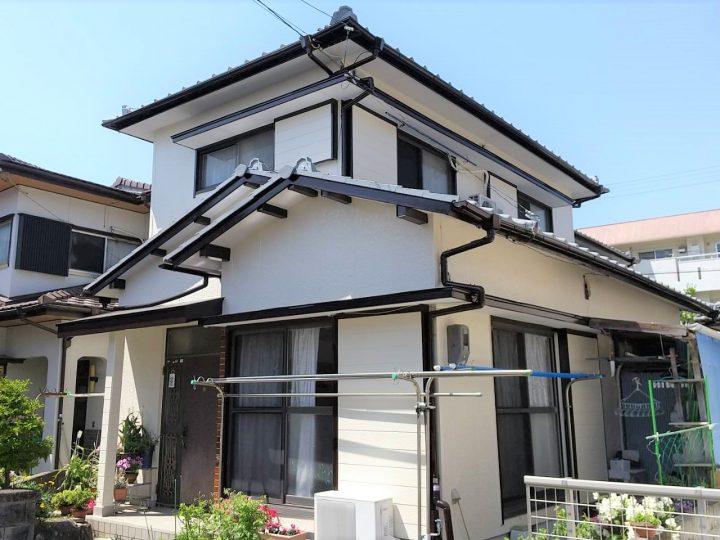 徳島市名東町 S様邸 屋根塗装・外壁塗装