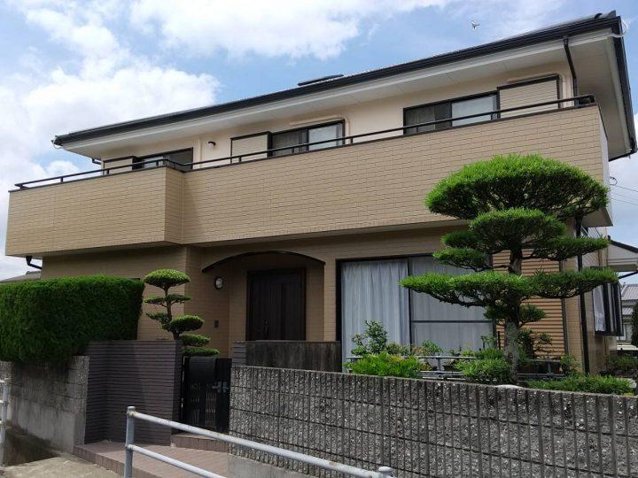 徳島市応神町 K様邸 屋根塗装 外壁塗装