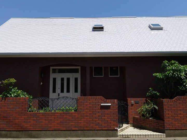 鳴門市撫養町 U様邸 屋根塗装 付帯部塗装