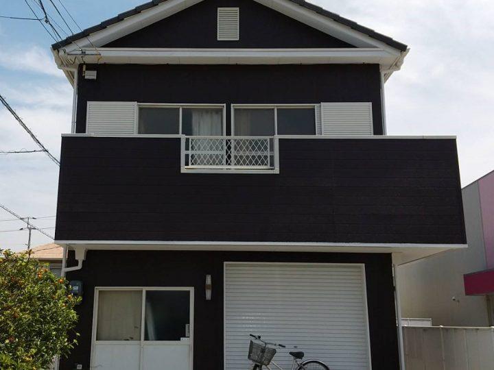 徳島市住吉 H様邸 屋根塗装 外壁塗装