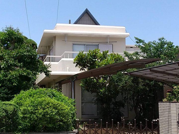 徳島市名東町 T様邸 外壁塗装