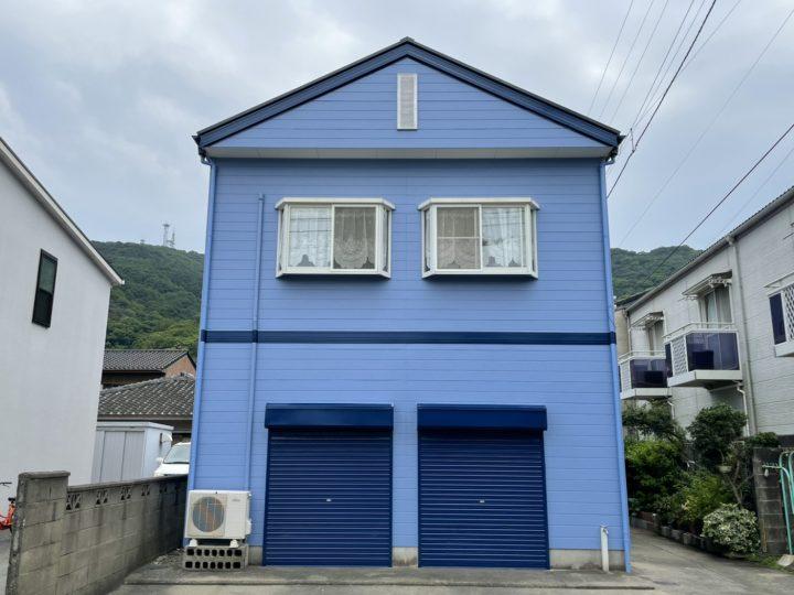 徳島市南佐古 H様邸 屋根塗装・外壁塗装