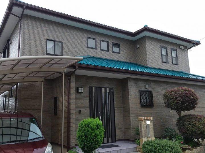 徳島市新浜本町 T様邸 屋根塗装 外壁塗装