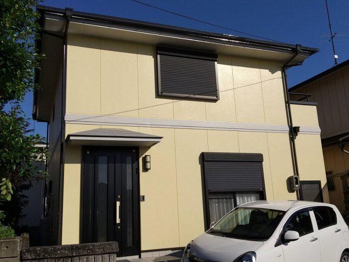 小松島市中田町 G様邸 屋根塗装 外壁塗装