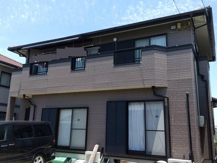 徳島市川内町 H様邸 外壁塗装