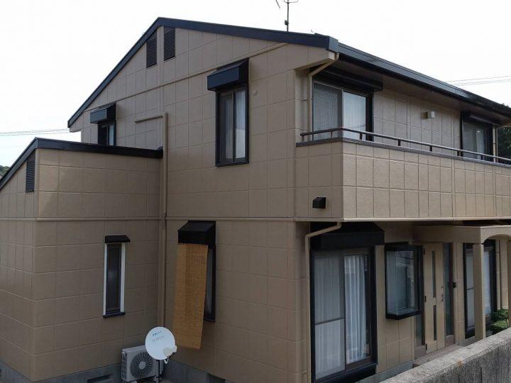 鳴門市瀬戸町 M様邸 屋根塗装 外壁塗装